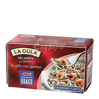 Ubago La gula del norte ajillo-gambas 115 g