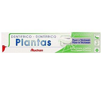 Auchan Pasta de dientes con plantas y flúor 75 mililitros