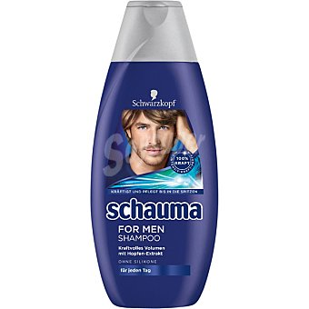 SCHAUMA For men champu con extracto de lupulo Frasco 400 ml