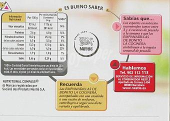 La Cocinera Empanadilla Bonito 624 g