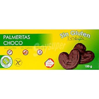 Palmeritas de chocolate Caja 100 g