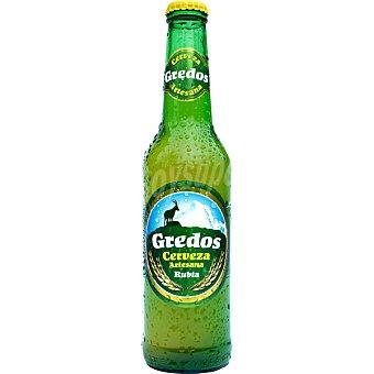 GREDOS Cerveza rubia artesana de ávila Botella 33 cl