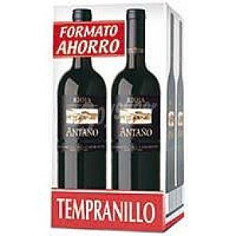 ANTAÑO Vino Tinto Joven Rioja pack 4x75 cl
