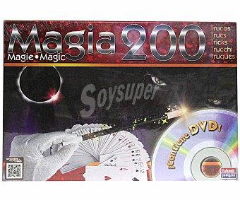 FALOMIR JUEGOS Juego con 200 de Trucos de Magia 1 Unidad