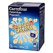 Palomitas saladas para microondas Pack de 3 bolsas de 100 g Carrefour