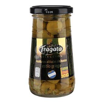 Fragata Aceituna aliñada sin hueso estilo griego 135 g