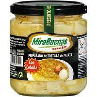 MIRABUENAS Preparado de tortilla con cebolla Tarro 340 g