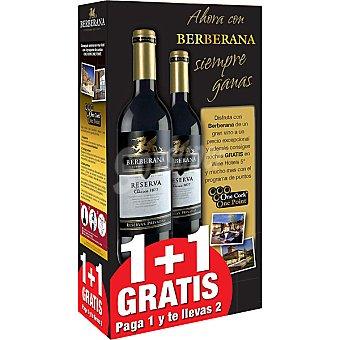 Berberana vino tinto reserva clásico de Castilla-La Mancha estuche + 1 botella gratis botella 75 cl