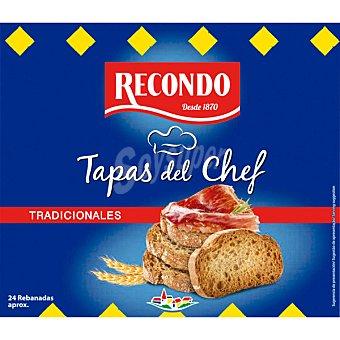 Recondo Tapas del Chef pan tostado tradicional  bolsa 100 g
