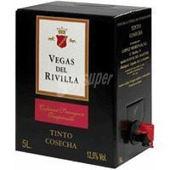 VEGA Del RIVILLA Vino Tinto de mesa 5 litros