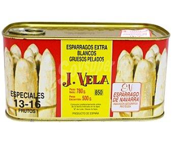 J. vela Espárragos blancos 13/16 Frutos 500 Gramos