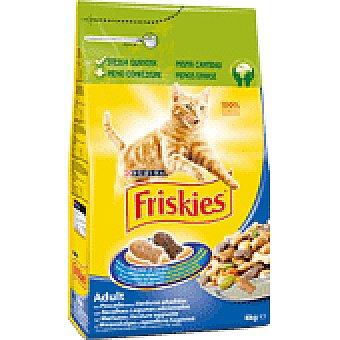 Friskies Purina Comida gatos bacalao y trucha 4 KGS