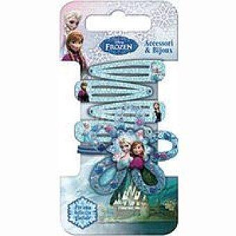 Disney Frozen Clips y coleteros flor Pack 1 unid