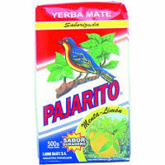 Pajarito Yerba mate de menta-limón Paquete 500 g