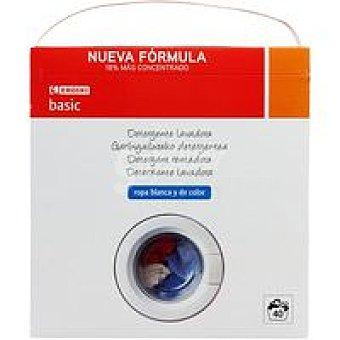 Eroski Basic Detergente en Polvo Maleta 40 dosis