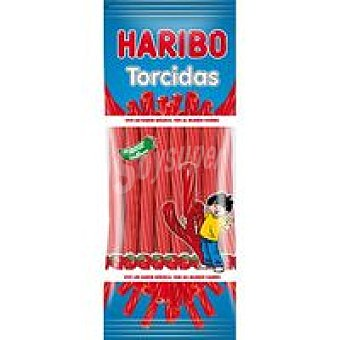 Haribo Torcidas de fresa Lc Bolsa 80 g