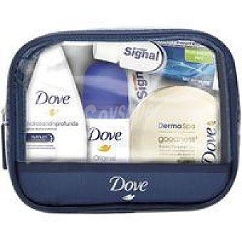 Dove Mini neceser de viaje para mujer pack 1 unid