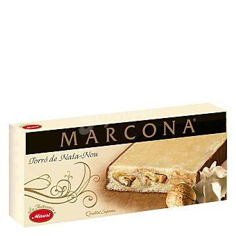 Marcona Turrón de nata nuez 250 g