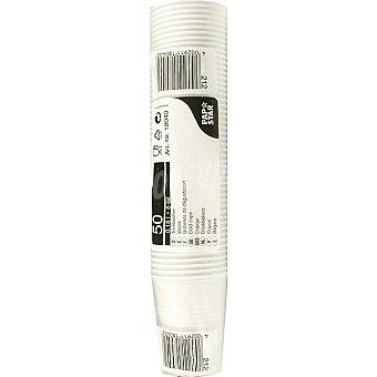 Papstar Vaso blanco paquete 50 unidades 20 cl