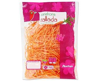 Auchan Zanahoria rallada Bolsa de 150 gramos
