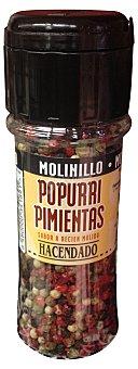 Hacendado Pimienta popurri molinillo (tapon negro) Bote de 50 g