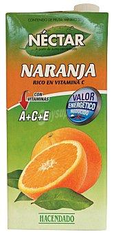 Hacendado Nectar naranja (con valor energetico reducido) Brick 1 l