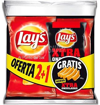 PATATAS Lays SAL +lays extr.sal 1 UNI 2U