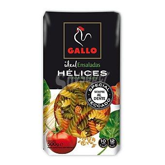 Gallo Hélice con espinacas y tomate Paquete 500 grs
