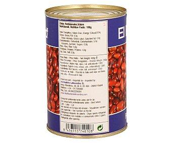 EL PLEBEYO Frijol rojo 425 gramos