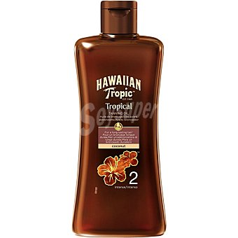 Hawaiian Tropic Aceite bronceador FP-2 Intense Bote 200 ml