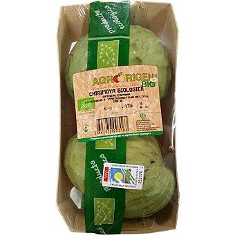 Chirimoyas ecológicas peso aproximado bandeja 650 g