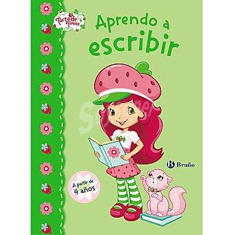 Cuaderno de actividades Tarta de Fresa aprendo a escribir +3 años