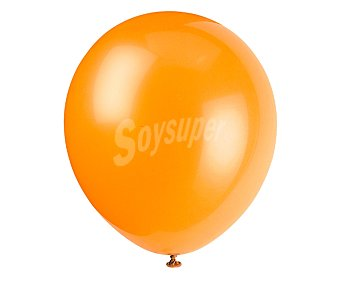 Partygram Globos de 30,5 centímetros de color naranja 15 unidades