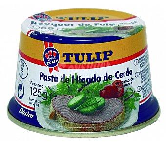 Tulip Pasta de hígado de cerdo Lata 125 g