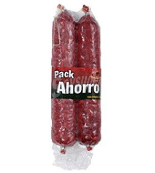 Villar Pack salchichón 500 g + chorizo 500 g. 1 ud
