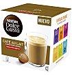 Cápsulas café con leche descafeinado 16 unidades Dolce Gusto Nescafé