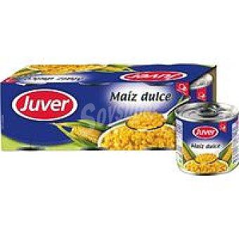 Juver Maiz dulce Pack 3x140 g