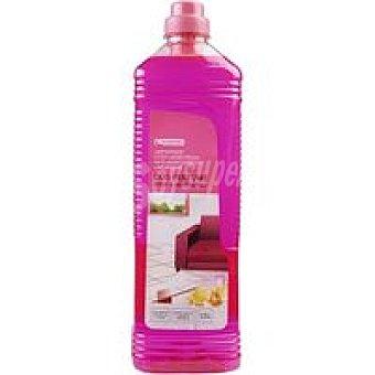 Eroski Limpiahogar duo perfume rosa-mand. Botella 1,5 litros