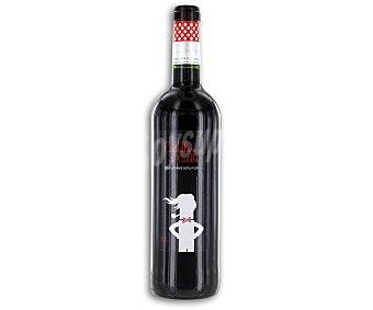 Caballero de Castilla Vino tinto tempranillo de la tierra de Castilla Botella de 75 centilitros