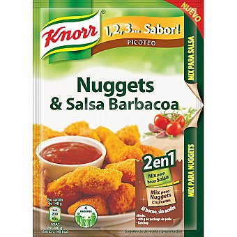 Knorr Sazonador nuggets barbacoa 60 gr