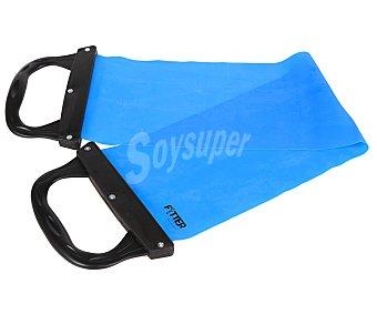 FYTTER Banda elástica especial para pilates, fabricada en Latex de color azul 1 Unidad