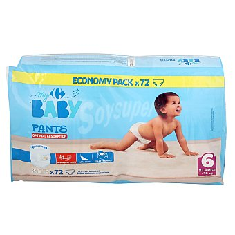 Carrefour Baby Pants My Carrefour Baby T6 (+ ) 72 ud 16 kg