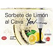 Copitas de sorbete de limon al cava estuche 600 ml 6 unidades You by Bornay