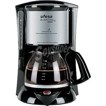 Ufesa CG-7232 cafetera de goteo Avantis capacidad para 10 a 15 tazas