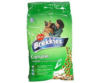 Brekkies Affinity Pienso para perros adultos con pollo y cereales Saco 10 kg
