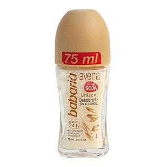Babaria Desodorante roll-on avena 75 ml