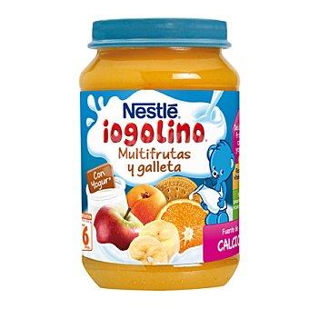 Iogolino Nestlé Tarrito multifrutas y galleta con yogur 190 g