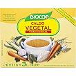 Caldo biológico de verduras en pastillas Envase 6 unidades Biocop