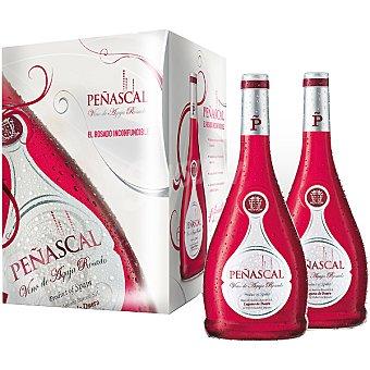 Peñascal vino de aguja rosado caja 4 botellas 75 cl