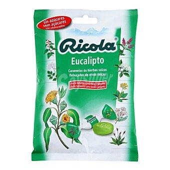 Ricola Caramelos sin azúcar eucalipto 70 g